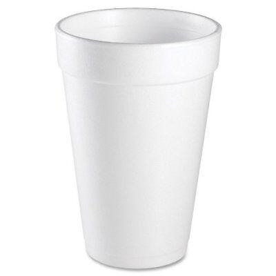 Dart Insulated Styrofoam Cup - 16 Oz - 1000carton - Styrofoam - White 10ftl