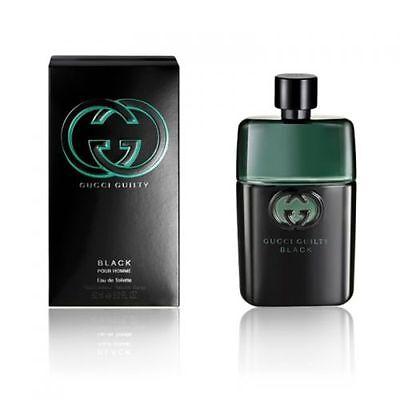 Gucci Guilty Black 3.0 Oz Eau De Toilette Spray Brand New In Box For Men