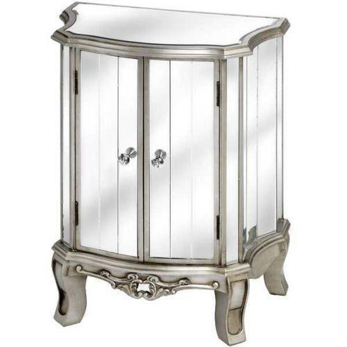 Laura Ashley Coffee Table With Drawers: Venetian Mirrored Cabinet