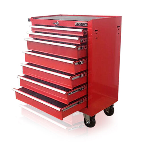 Us Cabinet: 373 US PRO RED TOOLS AFFORDABLE STEEL CHEST TOOL BOX