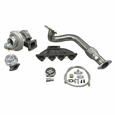 Turbo Manifold Downpipe Kit For 96-00 Civic EK B16 B18