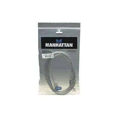 Manhattan Hi-Speed USB Extension Cable (3.0m) A Male / A Female (Silver)