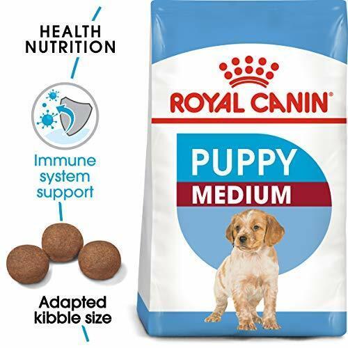 Royal Canin Size Health Nutrition Medium Puppy Dry Dog Food, 17 lb & 30 lb (NEW)