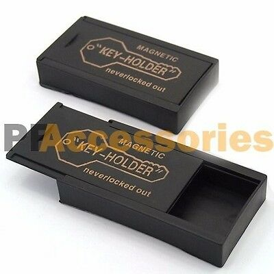 2 Pcs Magnetic Magnet Hide A Key Emergency Spare Key Holder Hider Set