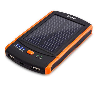 Mp-s6000 Power Bank Portable Mobile External Battery Charger Solar Panel  Ipod -