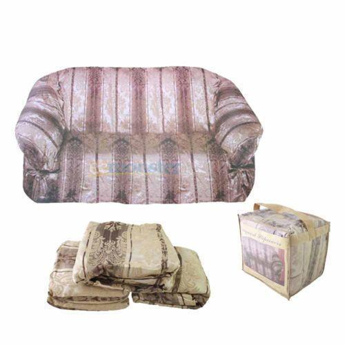 3 Piece Sofa Slipcover Ebay
