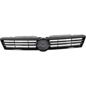 2011-2014 Volkswagen Jetta Grille Black With Chrome Moulding Sedan
