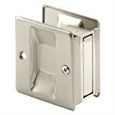 Prime-line Products N 7238 Pocket Door Passage Pull Satin Nickel