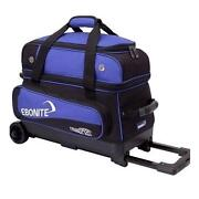 2 Ball Bowling Bag with Wheels