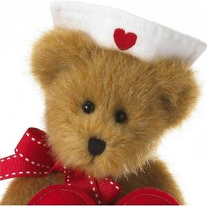 Ms. Patience Nurse Bear Sentiment Boyds plush 4026195