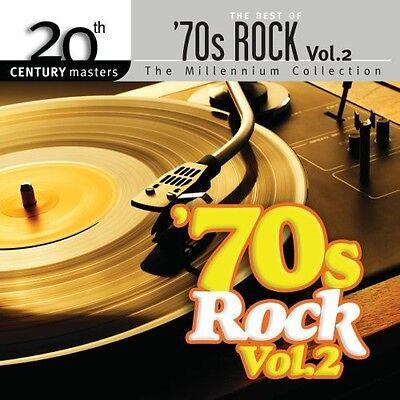 Millennium Collectio - Vol. 2-Best of 70's Rock [New CD] Ca