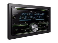 ****PIONEER DOUBLE DIN CD PLAYER/BLUETOOTH/USB/****