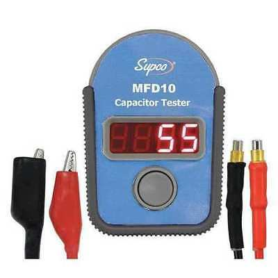 Supco Mfd10 Digital Capacitor Tester With Led Display 0.01 To 10000mf Range