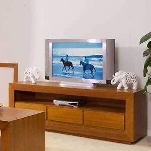TASSIE OAK ELKE TV UNIT Villawood Bankstown Area Preview