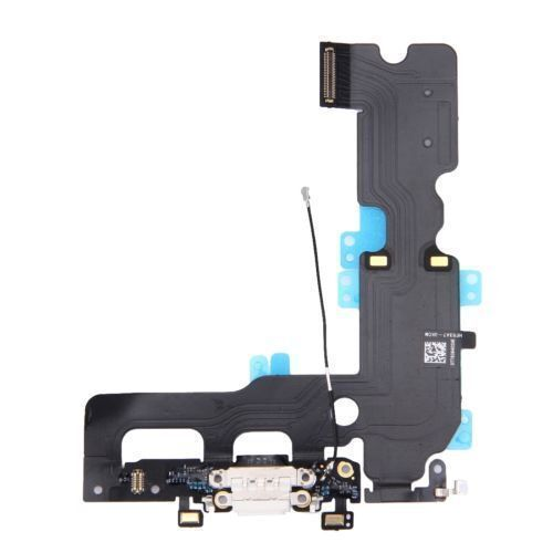 Lot Of 10 White Charging Dock Port Usb Flex Cable Mic Ant...