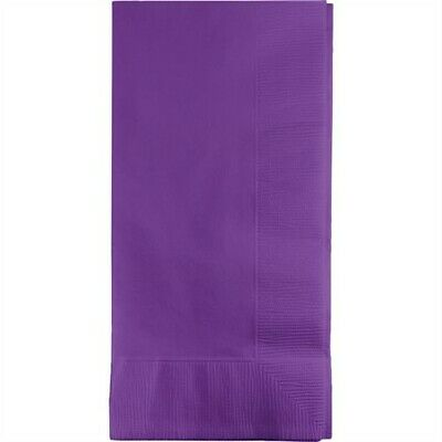 Amethyst Paper Dinner Napkins 50 Pack Birthday Party Decoration (Dinner Napkins Paper)