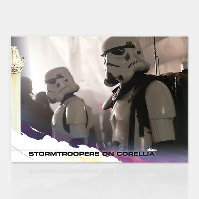 STORMTROOPERS ON CORELLIA - COUNTDOWN TO SOLO: A STAR WARS STORY - CARD 24
