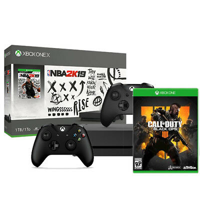 Xbox One X NBA 2K19 1TB  + Call of Duty: Black Ops 4 + Extra Xbox Controller