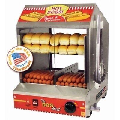 Hot dog steamer, hot dog machine, paragon hot dog steamer, paragon, USA MADE