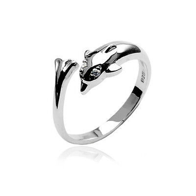 925 Sterling Silver Toe Ring Toe Rings Dolphin