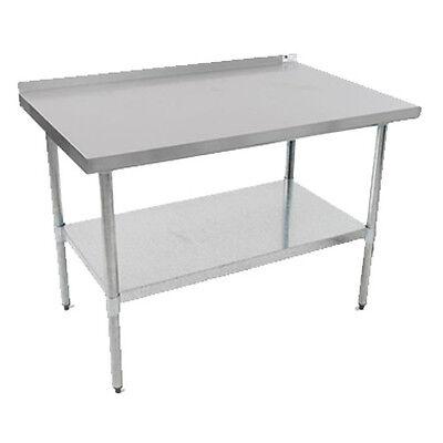 John Boos Ufblg9630 Economy Work Table W Galvanized Undershelf 96w X 30d