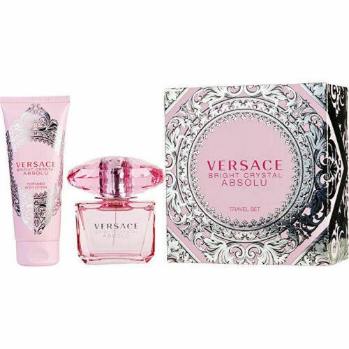Versace Bright Crystal Absolu Eau de Parfum Spray 3 oz &