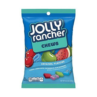 Jolly Rancher Original Chews Soft Hard Candy American Sweets Imported 184g bag (Jolly Rancher Chews)