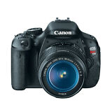 Canon EOS Rebel T3i / 600D 18.0 MP Digital SLR Camera w/ 18-55mm IS II Lens