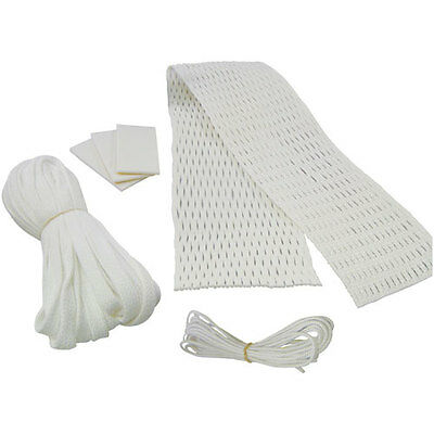 Lacrosse Hard White Attack Mesh Kit