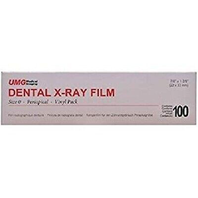 Film Ds-54 Dental X-ray Film Size 0 Single Pedo - Box Of 100 - Exp 2020-09