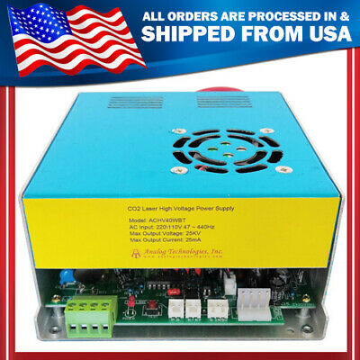 Co2 Laser High Voltage Power Supply Ac-dc Conversion Max Output 25kv 25ma