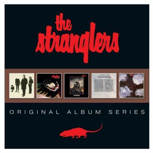 THE STRANGLERS 5CD NEW Black And White/Live (X Cert)/The Raven/Gospel/La Folie