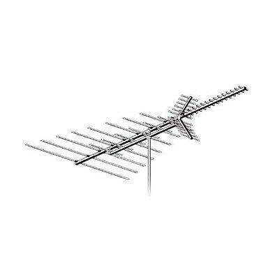 AntennaCraft C490 ColorStar HDTV VHF UHF FM Antenna 50 Element Fringe 50ft RG6 for sale  Shipping to India