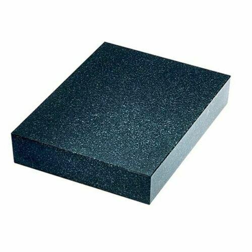"TTC 9"" x 12"" x 2"" Thick Grade B No Ledge Black Granite Surface Plate"