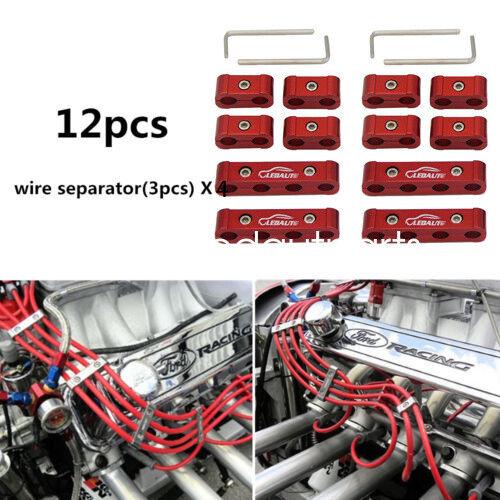 Aluminum Spark Plug Wire Separators Divider Electrical  Screen Wire Separators