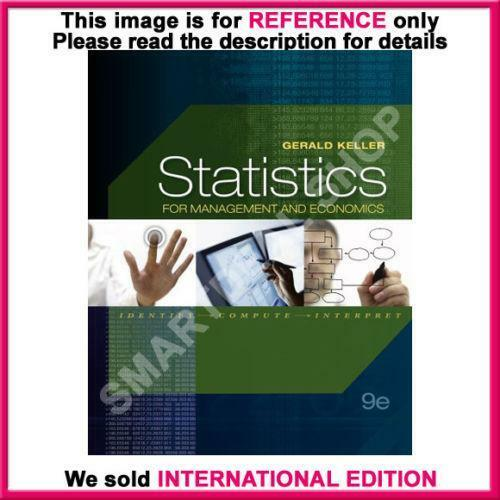 Statistics for management and economics books ebay fandeluxe Images