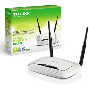NEUF - TP-Link TL-WR841N Routeur Wifi 802.11b/g/n  2 antennes