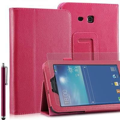 Plegable Funda Tablet para Samsung Galaxy Note pro T110 Rosa 7