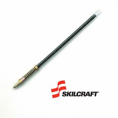Skilcraft Refills For Retractable Pens Med Point Black Ink 7510-01-368-3500