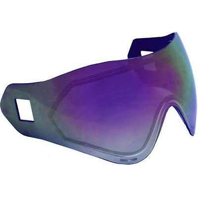Sly Profit Thermal Replacement Lens For Paintball Mask   Goggles   Purple Mirror