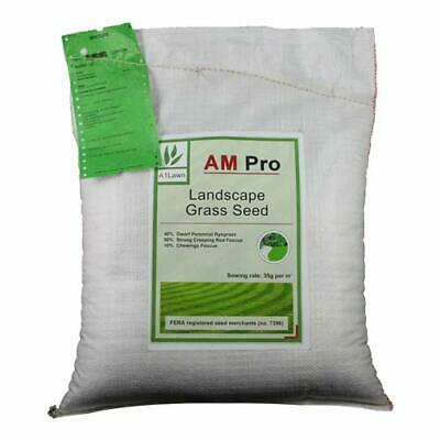 10kg Top Quality Grass Seed/Lawn Seed - (A1LAWN AM Pro Landscape) - Covers
