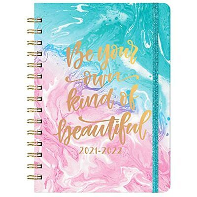 Planner 2021-2022 - Academic Planner 6.4x 8.5weekly Monthly Planner Pink