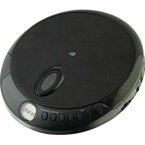 Gpx Pc301b Black Personal Cd Player Lcd Display Incl Earbuds