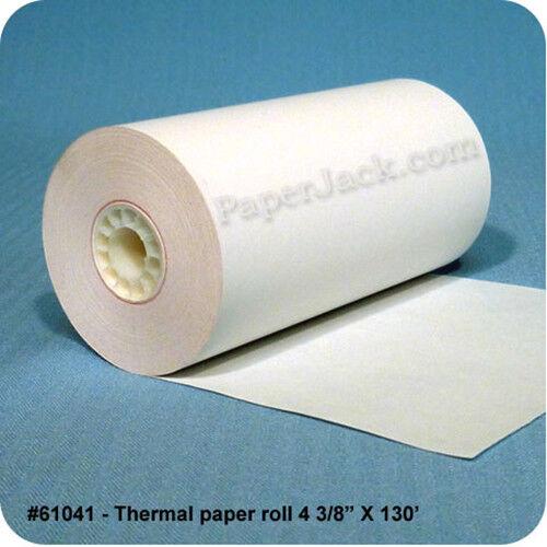 "#61041, Thermal Paper Rolls, 4 3/8"" x 130"