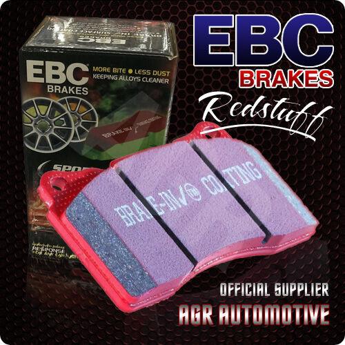 EBC REDSTUFF REAR PADS DP31812C FOR LEXUS LS460 4.6 SPORT 2009-