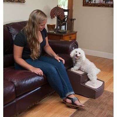 Pet Gear Easy Step I & II Dog Cat Stairs, Ladder for Couch or Bed ALL (Easy Step Iii Pet Stairs)
