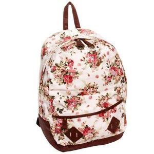 Floral Canvas Backpacks a0b17d11c7a74