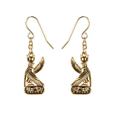 Egyptian Deity God Horus Earrings Set of 2. Ancient Egypt Fashion Jewelry