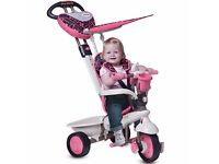Toys R-Us -Pink Smart Trike Dream 4 in 1 - very little used in excellent condition