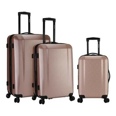 Kensie Unisex  3-Piece Expandable Hardside Luggage Set